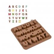 Forma de Silicone para Chocolate Letras