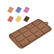 Forma de Silicone para Chocolate Tabletes
