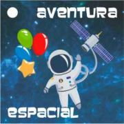 Tag para Lembrancinha 3,5x3,5 Festa Astronauta 20unid Duster