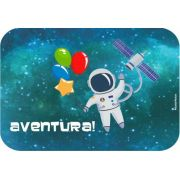 Tampinha para Kit Guloseima/Marmitinha Festa Astronauta 12unid Duster