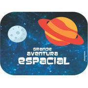 Tampinha para Mini Kit Guloseima/Marmitinha Festa Astronauta 12unid Duster