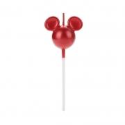 Vela Mickey Vermelha