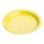 Prato de Papel para Sobremesa Cores Lisas 18cm