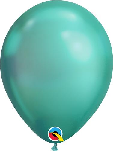 Balão de Látex Cores Cromadas no.11 Qualatex (1Unid)