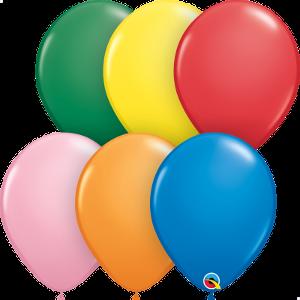 Balão de látex Cores Sortidas no.11 - 25unid Qualatex