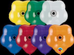 Balão de Látex Cores Sortidas no.6 10unid Qualatex