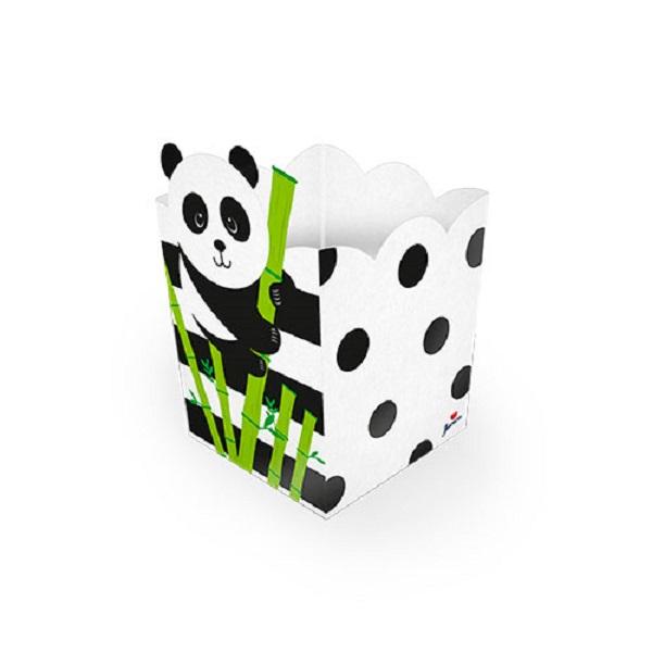 Cachepô Festa Panda 8 unidades
