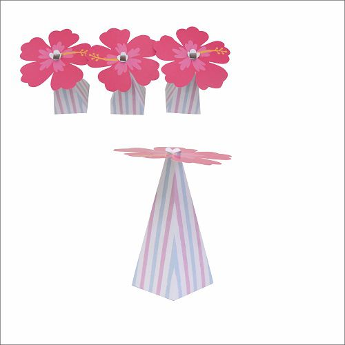 Cone Decorativo Festa Flamingo 10unid Duster
