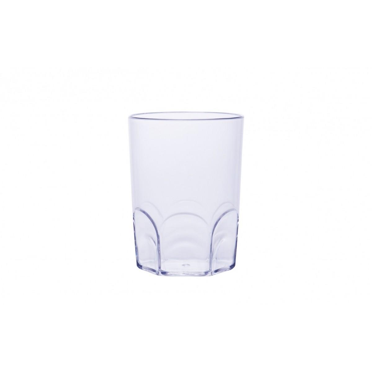 Copo Acrilico Whisky Cristal 190ml Bezavel