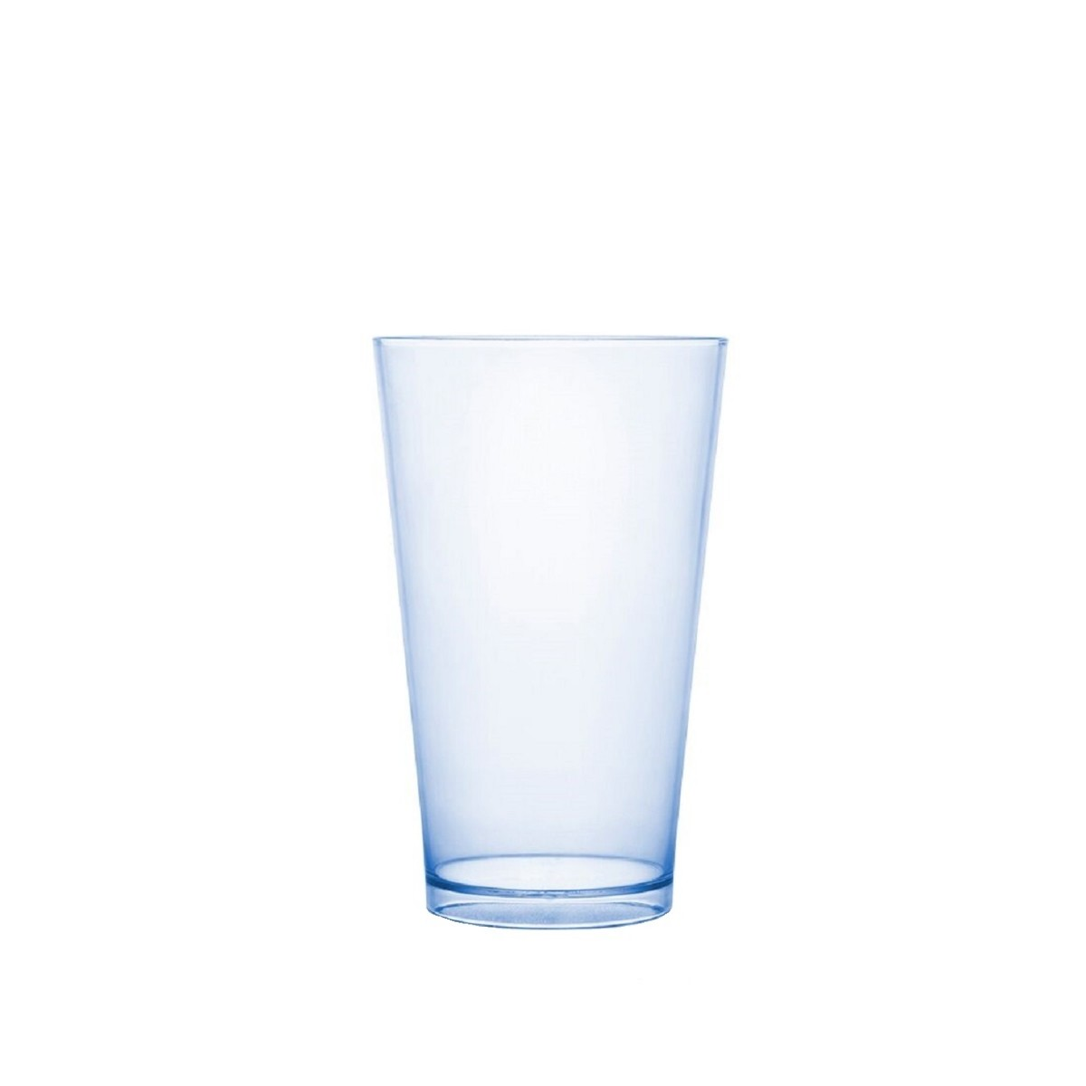 Copo Acrilico Caldereta 500ml Transparente Cristal Neon Bezavel