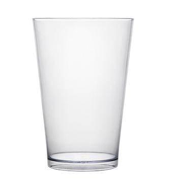 Copo Acrilico Caldereta 500ml Transparente Cristal Bezavel