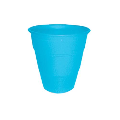Copo Descartável Happyline 210ml Azul Claro 10unid Silverplastic