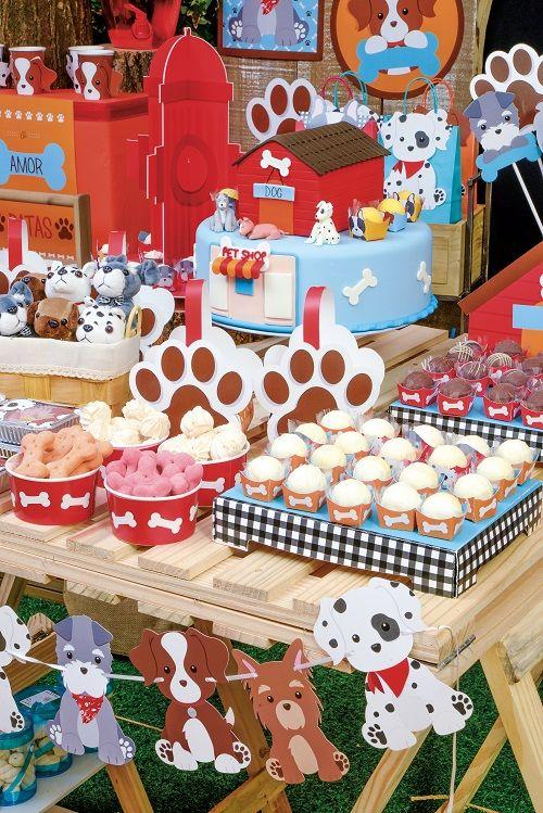 Faixa Decorativa Festa Cachorrinhos 01unid Cromus