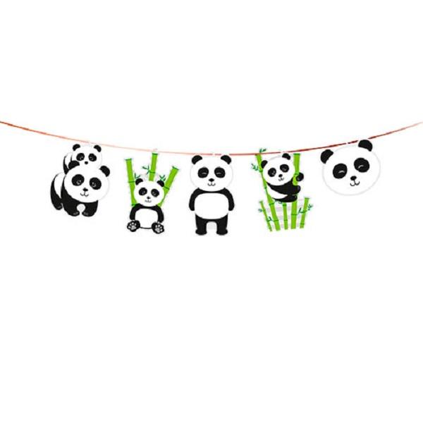 Faixa Decorativa Festa Panda