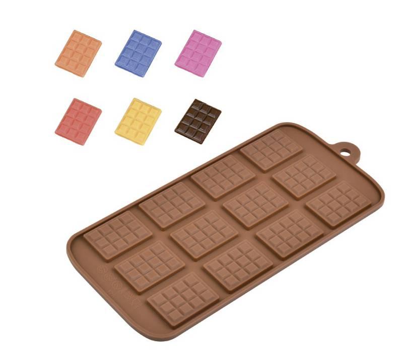 Forma de Silicone para Chocolate Tabletes
