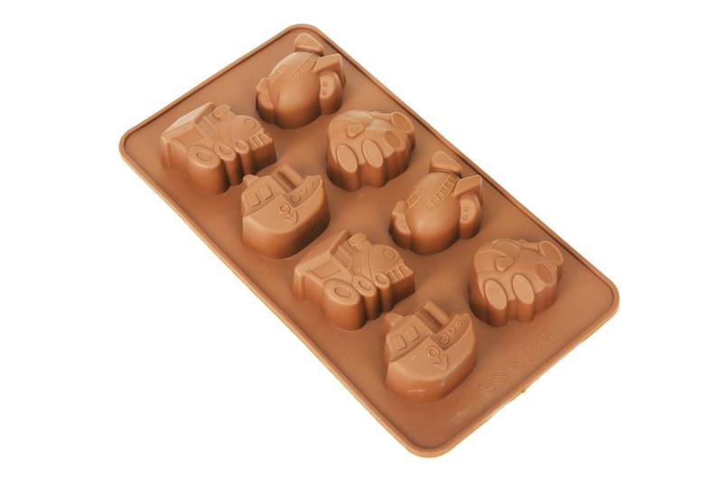 Forma de Silicone para Chocolate Transportes