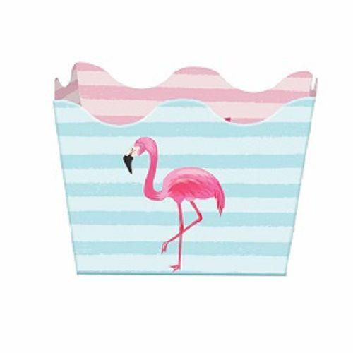 Forminha Caixeta Festa Flamingo 24unid Duster