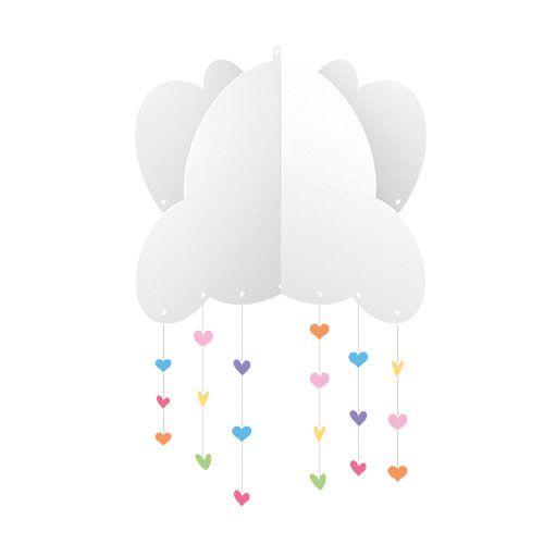 Kit Decorativo Chuva de Amor 12peças Junco