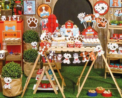 Mini Cachepô Festa Cachorrinhos 10unid Cromus