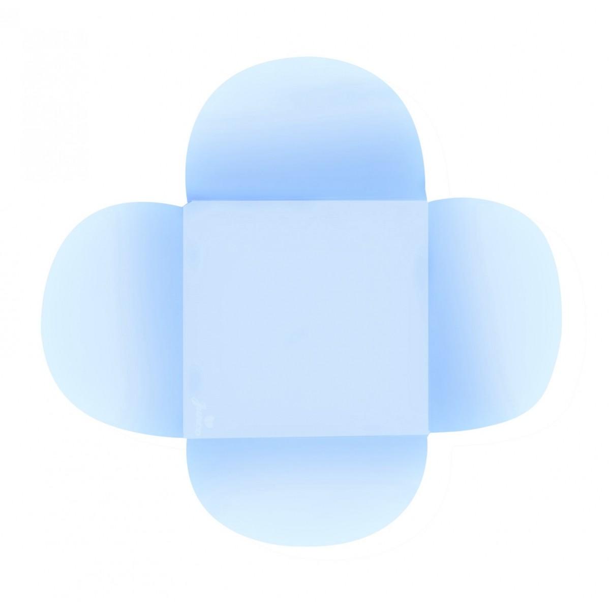 Porta Forminhas para Doces 50unid Azul Claro Junco
