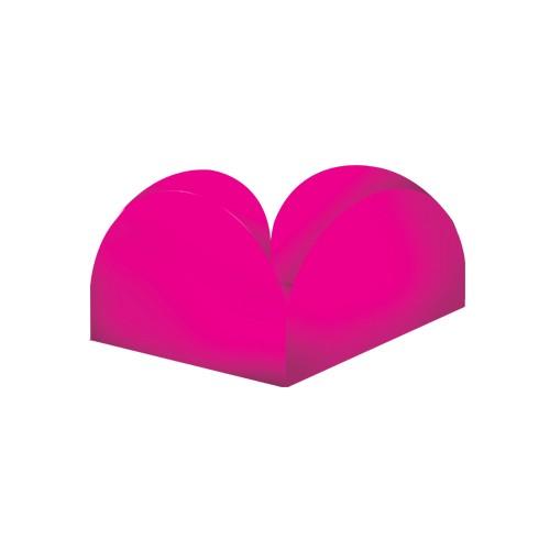 Porta Forminhas para Doce Pink Junco 50unid