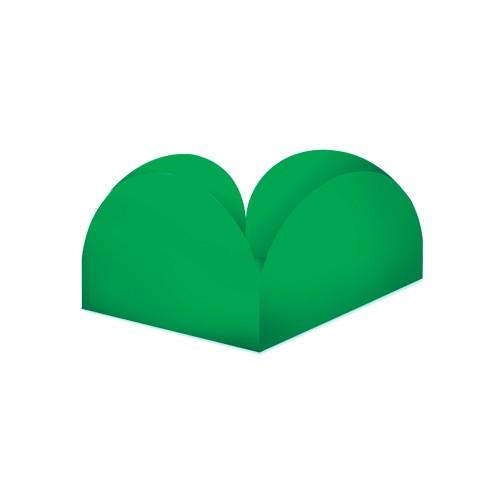Porta Forminhas para Doce Verde Bandeira 50 unidades - Decoração - Junco