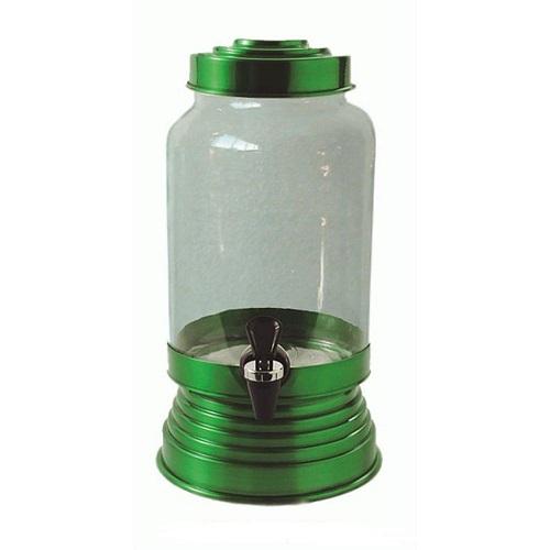 Suqueira de Vidro Verde Verniz - 3,25 litros