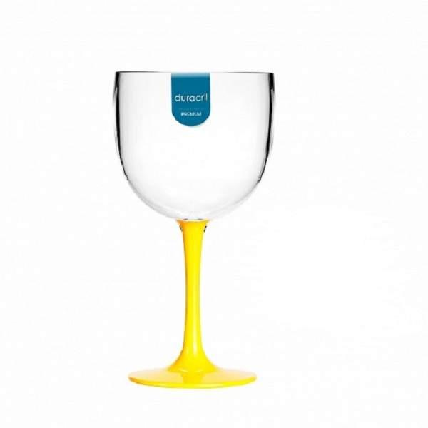 Taça Acrílica para Gin Bicolor 580ml Duracril 12unid