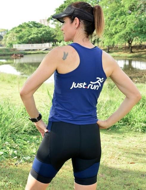 Camiseta Nadador Feminina Marinho