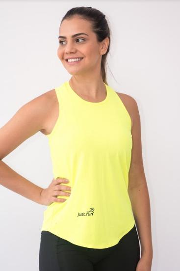 Camiseta Soltinha Amarela