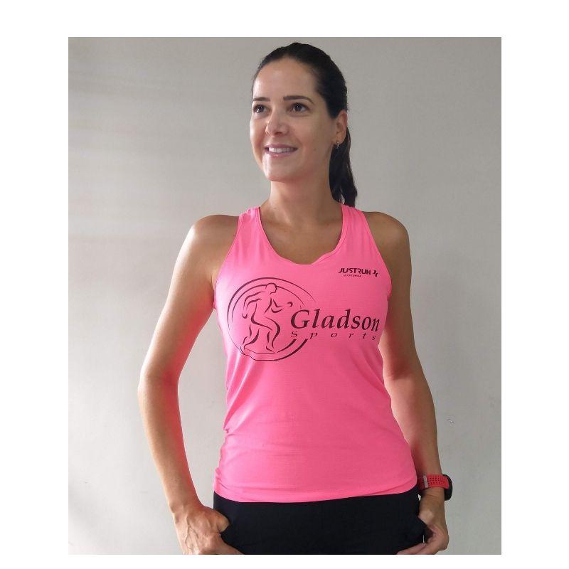 Regata Rosa Equipe Gladson Sports