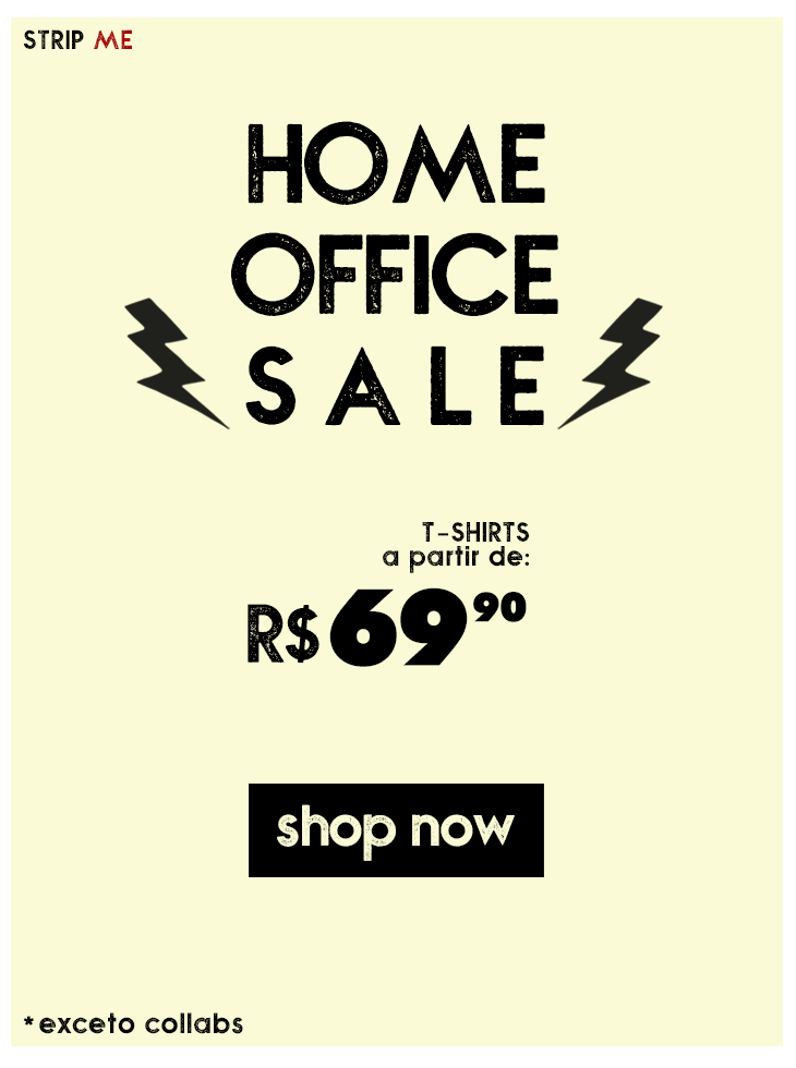 HOME OFFICE SALE: a partir de $69,90