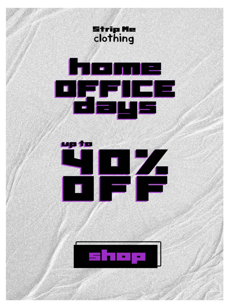 Home Office Days - até 40% OFF!