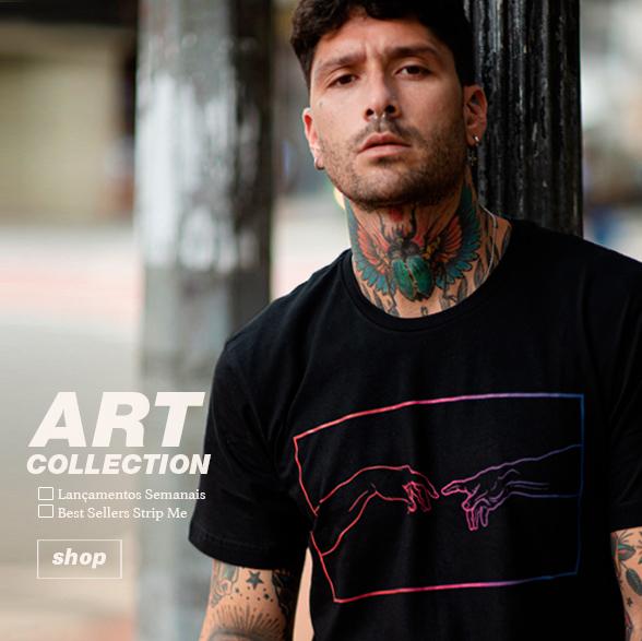 art collection - strip me