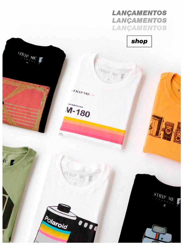lançamentos - strip me clothing