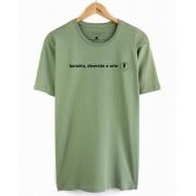 Camiseta Barulho, Diversão e Arte