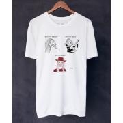 Camiseta Brigitte  Bordô