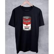 Camiseta Campbell's 8 Bit