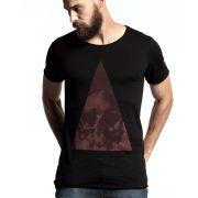 Camiseta Caveira Prisma
