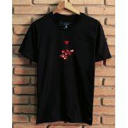 Camiseta Red Rose