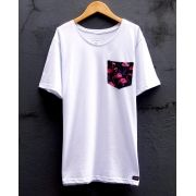 Camiseta Flamingos Pocket