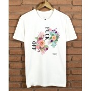 Camiseta Floral Fk Off