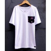 Camiseta Flowers Pocket