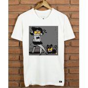 Camiseta Garota e o Gato
