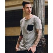 Camiseta Grey Pocket
