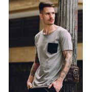Camiseta Grey Pocket