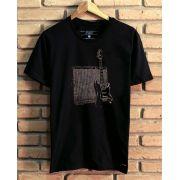 Camiseta Guitarra Vintage
