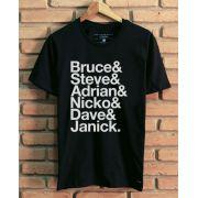 Camiseta Iron Maiden Names
