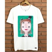 Camiseta Menina Chapéu