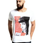 Camiseta Pulp Fiction Mia Milk Shake